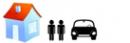 2 personas - 1 coche en un bungalow