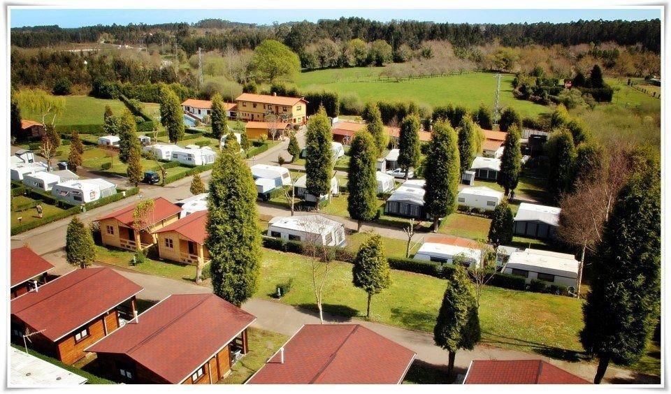 Camping Villaviciosa vista del camping
