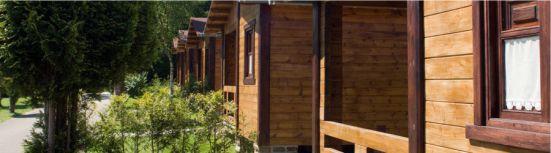 bungalows de madera disposicion