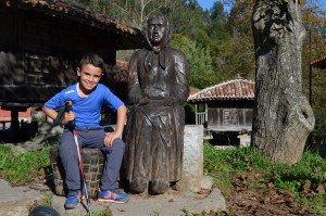 Rio Caliente, pueblo de horreos