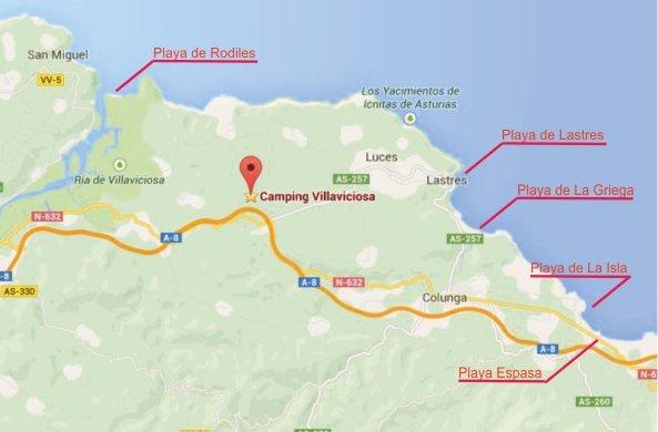 Surroundings and activities  Camping VillaviciosaCamping Villaviciosa
