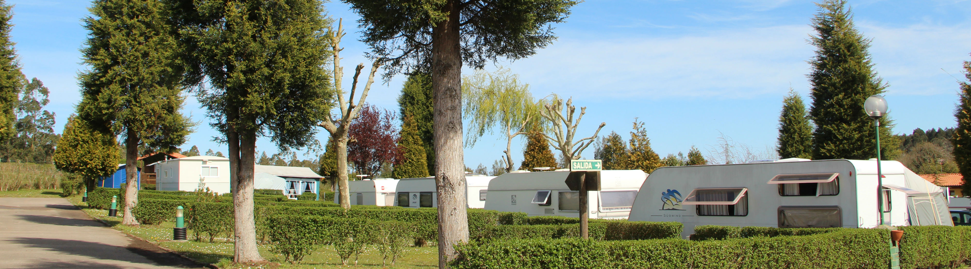 Caravanas en Camping Villaviciosa