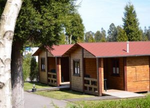 Bungalow de madera 1 habitacion