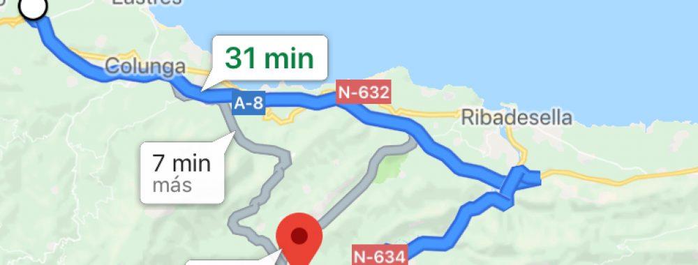 Mapa Cangas Aventura
