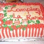 Tarta Fiesta de despedida 2013