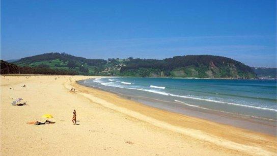 camping en Asturias | Playa de Rodiles