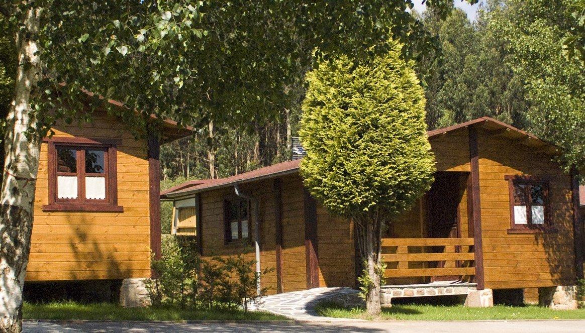 Bungalows en Asturias: Camping Villaviciosa